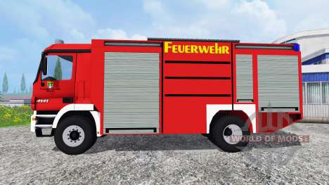 Mercedes-Benz Actros 4141 [feuerwehr] for Farming Simulator 2015