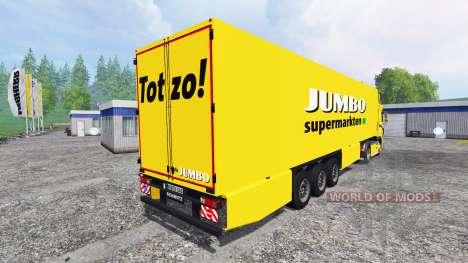 DAF XF Jumbo for Farming Simulator 2015