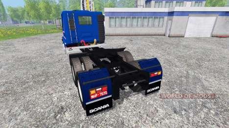 Scania 113H for Farming Simulator 2015