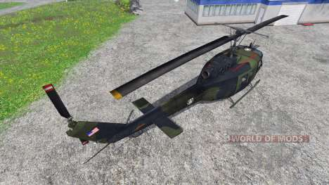 Bell UH-1D [U.S. Army] for Farming Simulator 2015