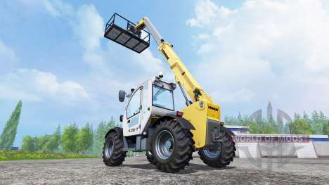Working platform for Farming Simulator 2015