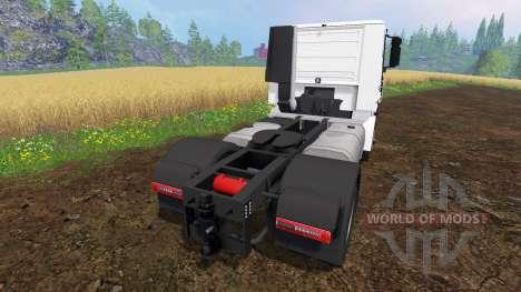 Iveco Stralis V8 LowCab v1.1 for Farming Simulator 2015
