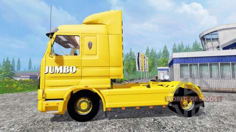 Scania 143M Jumbo for Farming Simulator 2015