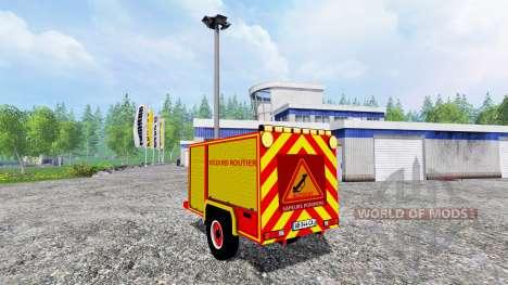 Remorque Secours Routier for Farming Simulator 2015