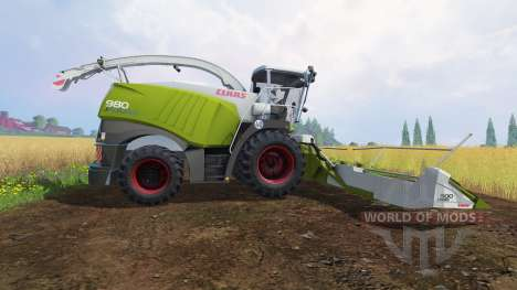 CLAAS Jaguar 980 [dynamic power] for Farming Simulator 2015