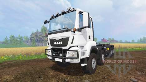 MAN TGS 8x8 for Farming Simulator 2015