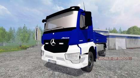 Mercedes-Benz Arocs [kipper] for Farming Simulator 2015