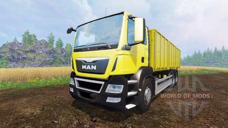 MAN TGS 6x4 [pack] v1.1 for Farming Simulator 2015