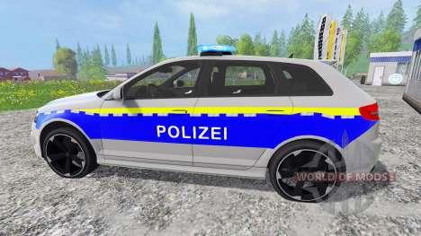 Audi RS3 Police for Farming Simulator 2015
