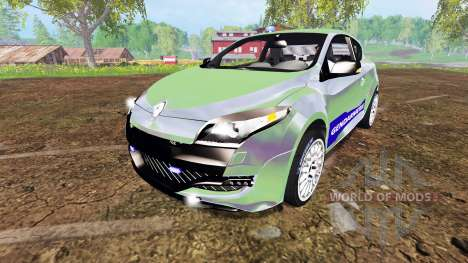 Renault Megane RS Gendarmerie for Farming Simulator 2015