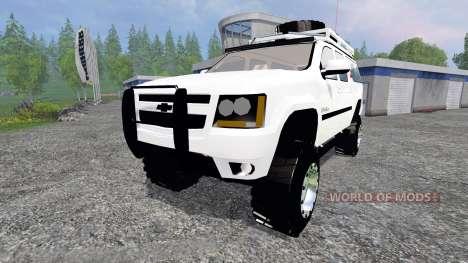 Chevrolet Suburban for Farming Simulator 2015