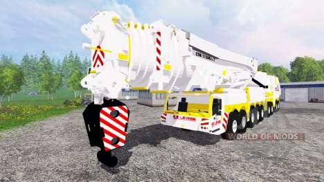 Liebherr LTM 11200 for Farming Simulator 2015