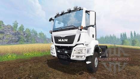 MAN TGS for Farming Simulator 2015