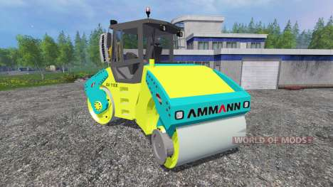 Ammann AV110X for Farming Simulator 2015