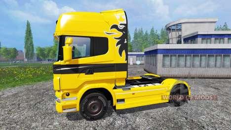 Scania R730 Jumbo for Farming Simulator 2015