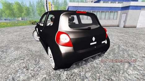 Renault Clio RS for Farming Simulator 2015