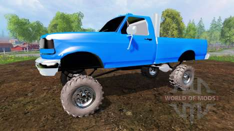 Ford F-150 v2.0 for Farming Simulator 2015
