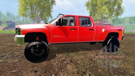 Chevrolet Silverado 2500 HD 2010 for Farming Simulator 2015