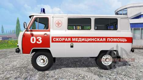 UAZ-2206 [ambulance] v2.0 for Farming Simulator 2015