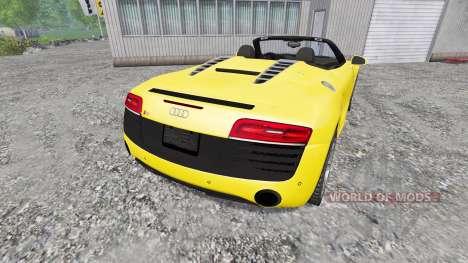 Audi R8 Spyder 2015 for Farming Simulator 2015