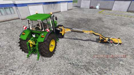 John Deere 7810 [mount mower] for Farming Simulator 2015