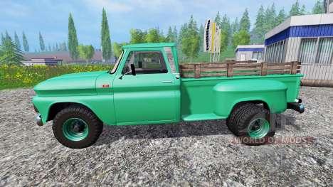 Chevrolet C10 1966 4x4 for Farming Simulator 2015