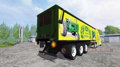 Kenworth T2000 [John Deere] for Farming Simulator 2015