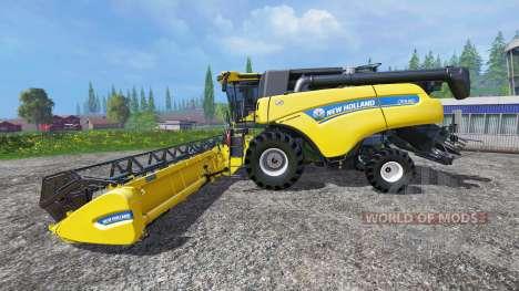 New Holland CR9.90 v1.2 for Farming Simulator 2015
