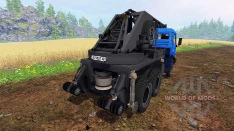 KamAZ Crane for Farming Simulator 2015