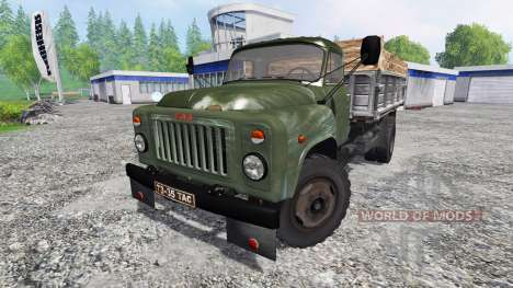 GAZ-53 [green] for Farming Simulator 2015