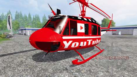 Bell UH-1D [YouTubers] for Farming Simulator 2015
