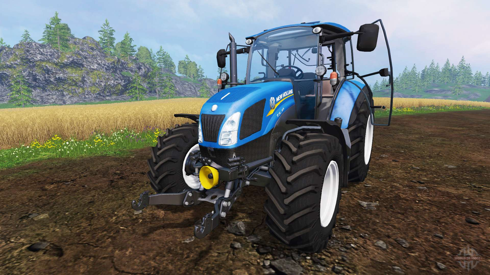 New Holland T5 95 for Farming Simulator 2015