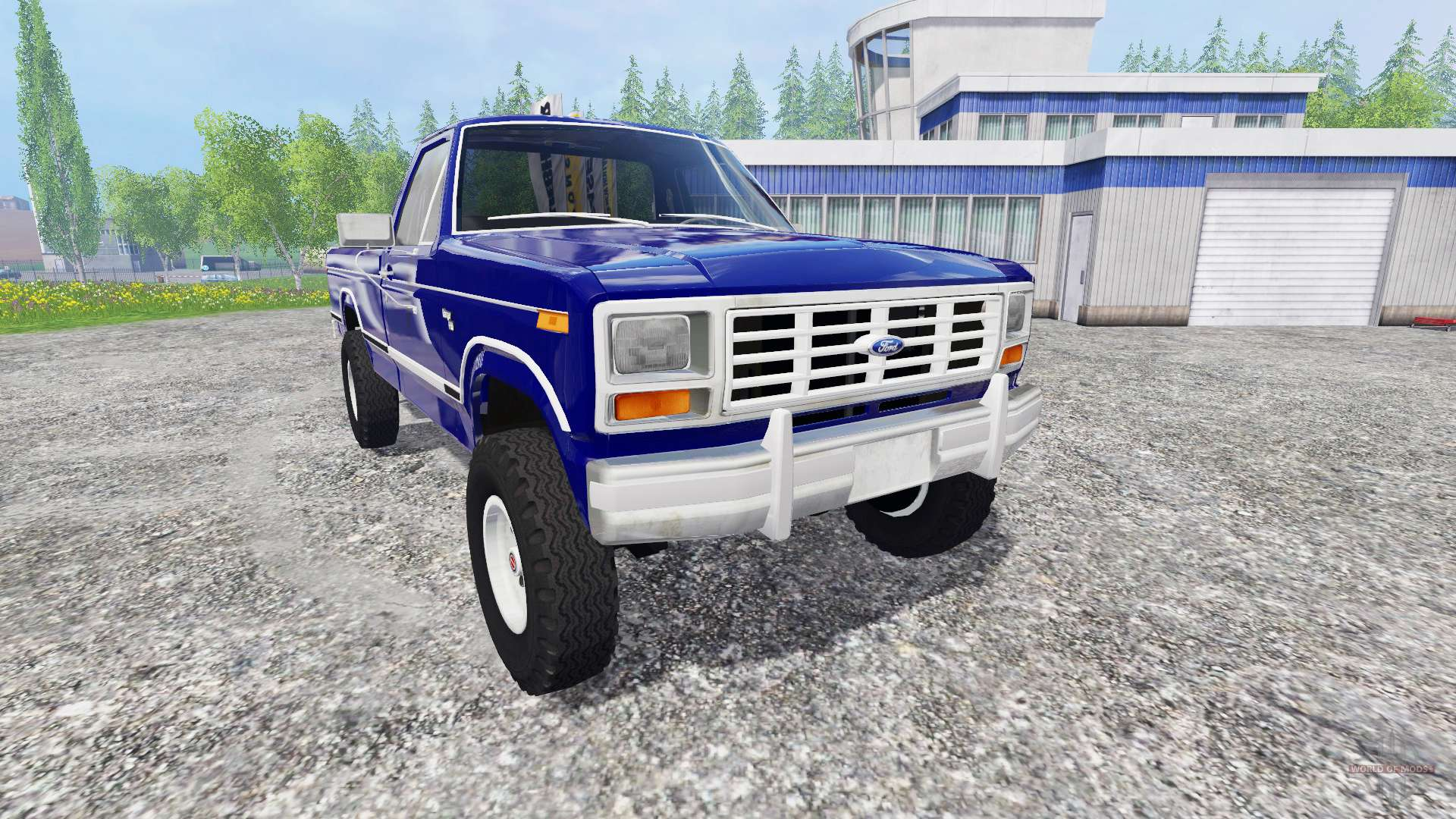 Ford 2000 Tractor Parts Ford Ranger F-150 1981 for Farming Simulator 2015