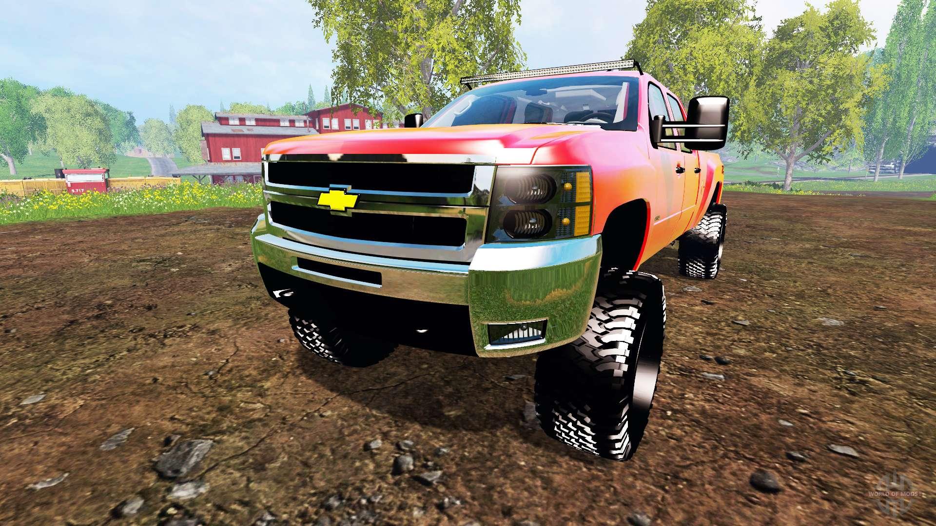 Chevrolet Silverado 2500 Hd 2010 For Farming Simulator 2015 Chevy 2500hd Grille