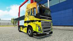 Tree skin for Volvo truck for Euro Truck Simulator 2