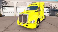 Skin Loves to Peterbilt and Kenworth tractors for American Truck Simulator