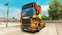 Skin Safari for Scania truck for Euro Truck Simulator 2