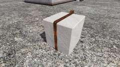 Concrete counterweight