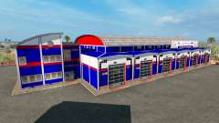 Гаражи Powerhouse Transport USA for American Truck Simulator