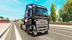 Monster High skin for Volvo truck for Euro Truck Simulator 2