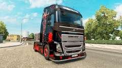 DeadPool skin for Volvo truck for Euro Truck Simulator 2