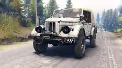 GAZ-69A for Spin Tires