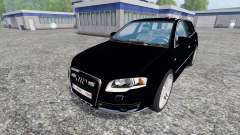 Audi A4 Police for Farming Simulator 2015
