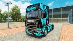 Skin Green Smoke for Scania truck for Euro Truck Simulator 2