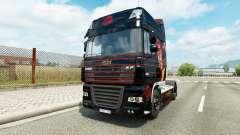 Hellboy skin for DAF truck for Euro Truck Simulator 2