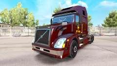 UPS skin for Volvo VNL 670 truck for American Truck Simulator