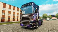 Skyline skin for Scania truck for Euro Truck Simulator 2