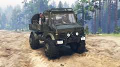 Mercedes-Benz Unimog U1650 for Spin Tires