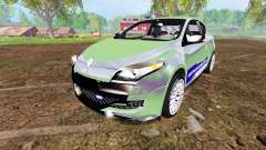 Renault Megane RS Gendarmerie for Farming Simulator 2015