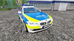 BMW 520d Dusseldorf Police for Farming Simulator 2015